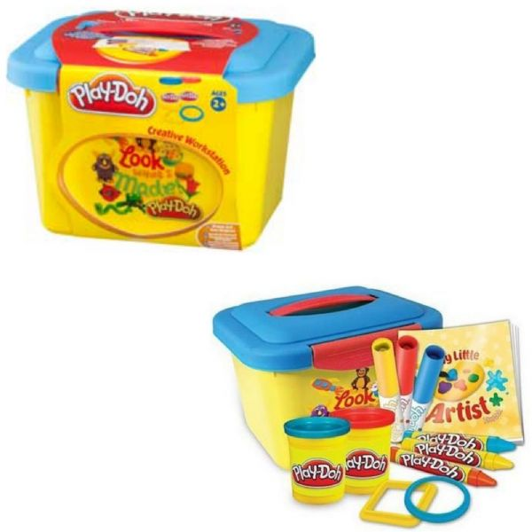 Play Doh Playdoh Creative Workstation Look What I Made Toy Play Set  2+ Years